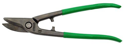 Stubai 267703GR Cisaille Coupe-Trou Ronde Droite, 250 mm, Vert/Argent