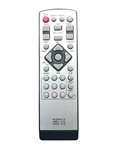 LipiWorld® 3IN1 Home Theater Universal Remote Control Compatible for Mitsun Ibell Onix