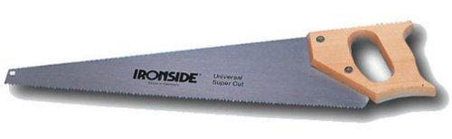 Ironside 130210 Scie à Main avec Manche Bois 350 mm
