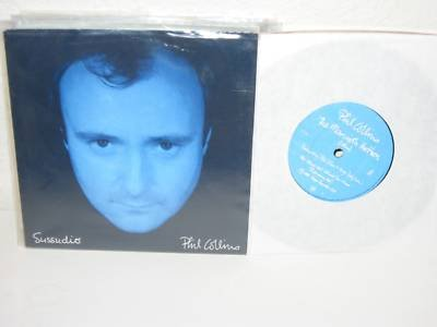 PHIL COLLINS Sussudio/ The Man With The Horn 7' UK NM