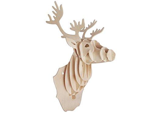 REHKOPF 3D Holzbausatz -  Säugetier - Holzpuzzle Modell: R001 von etna