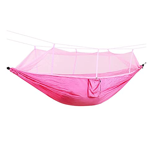SXFYHXY Hamaca para Acampar para Dos Personas, Portátil, Ultraligero, Cama Colgante, Tela De Paracaídas Resistente, Columpio para Dormir
