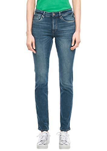 s.Oliver Damen 04.899.71.6067 Hose Lang, 76z5 Slim Jeans, Medium Blue, 34W 30L EU
