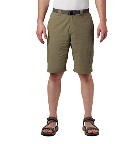 Columbia Men's Silver Ridge Cargo Short, Sage, 32 x 12