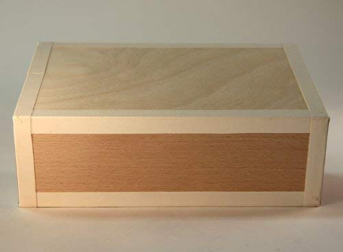 Henrys Juggling Cigar Box - Natural with White Tape