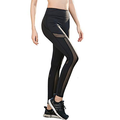 XIONGDA Hohe Taille eng Sport-Fitness-Hosen Damen Outdoor-Sportarten ausüben Reithosen sexy Hüften dünne Yogahosen,S
