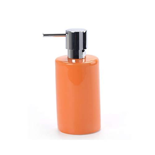YIFEI2013-SHOP dispensador de jabón Dispensador Moderno de la Botella de la Mano del Gel de la Ducha del champú del Cuarto de baño del dispensador del jabón Soap Dispenser (Color : Pink)