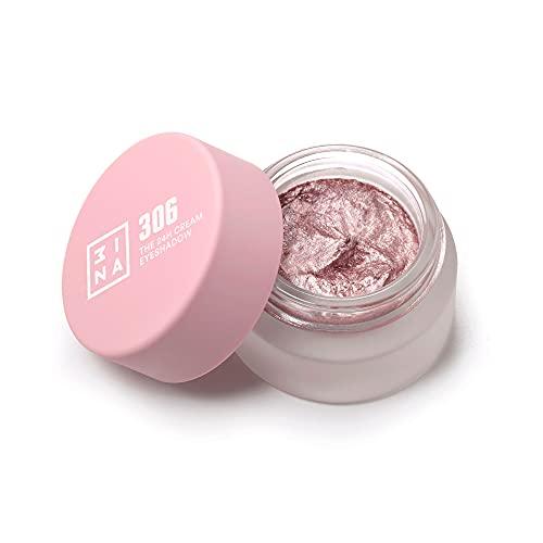 3ina Makeup- Vegano - Cruelty Free - The 24H Cream Eyeshadow 306 - Ombretto Crema Glitter...