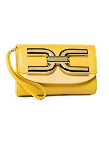 Elisabetta Franchi Handtasche BS57A02E2 Zitrone, StyleName Standard Einheitsgröße