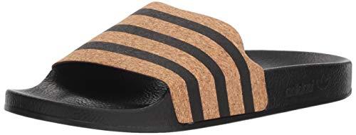 adidas Originals Zapatillas Deportivas para Mujer Adilette W, Color Negro, Talla 36 EU