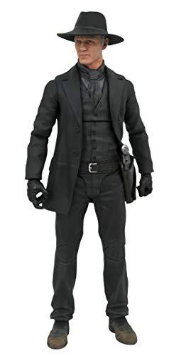 Diamond Select Toys LLC JAN199377 Westworld Select Serie 1 Mann in schwarz Actionfigur, Verschiedene