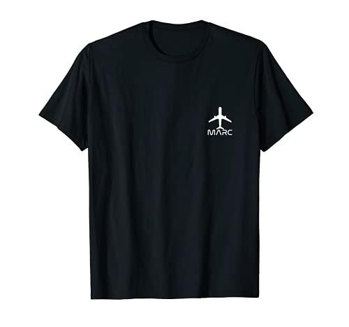 Hombre Día del Padre Aviación Avión | Nombre Marc - Viaje Piloto...