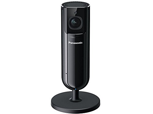 HomeHawk by PANASONIC Indoor Home Monitoring Camera, Privacy Shutter, Wide Angle, 1080p HD, Wall Mountable, No Monthly fee with Local SD Storage, Night Vision, 2 Way Talk (KX-HNC800B)