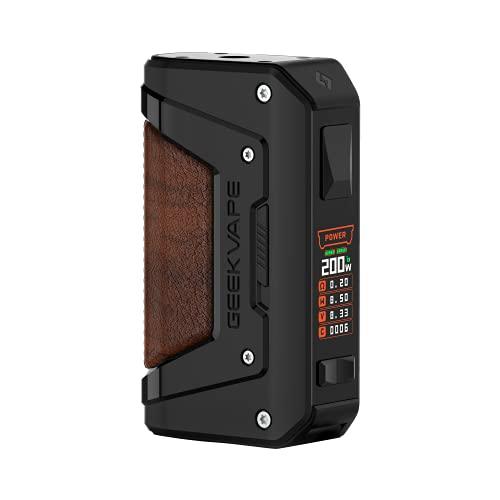 GEEKVAPE AEGIS Legend 2 Akkuträger Box Mod, 200 Watt, ohne Liquid und somit ohne Nikotin, schwarz, 300 g