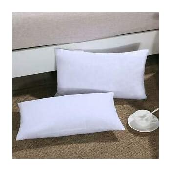 "IZO All Supply Premium Hypoallergenic Throw Pillow 12""x20"" Made in USA (2 Pack)"