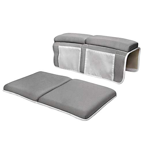 ErYao Bath Kneeler and Elbow Rest, Thick Knee Pad and Elbow Support Kneeling Mat, Kneeling Mats Cushion and Protect Arms and Knees (Gray)