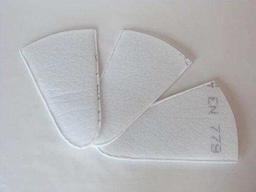 Sparhai24 Filtre de poche alternatif - Set G4 compatible avec la colonne d'aspiration d'air extérieur Helios EWT-A - Filtre de rechange ELF 02975
