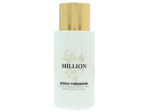 Paco Rabanne Lady Million sensual body lotion, 1er Pack (1 x 200 ml)