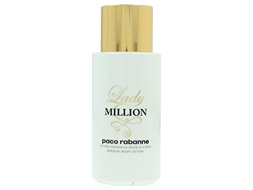 Paco Rabanne Lady Million sensual body lotion, 1er Pack (1 x 200 ml)