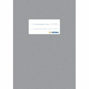 Herma 25 x Heftschoner A5 PP grau gedeckt