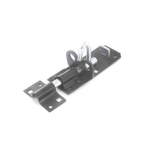 Securit S1413 Padlock Bolt Blk 200mm, Black, 200 mm