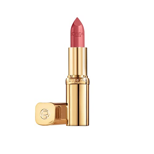 L'Oréal Paris Color Riche Satin 111 Oui, farbintensiver Lippenstift mit Argan-Öl und Vitamin E, pflegt die Lippen, Satin Finish