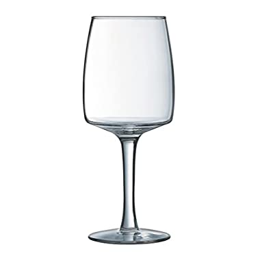 Luminarc 12 Piece Arc International Harmony Wine Glass Set, 16 oz, Clear