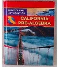 Prentice Hall Math Pre-Algebra California Student Edition 2009C