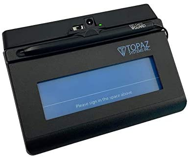 Topaz Systems - T-S460-BT2-R SigLite T-S460-BT2-R Bluetooth Wireless Signature Pad - 4.40 x 1.40 Active Area - 410 PPI