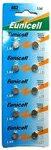 20 x Eunicell AG2 Alkaline button cell batteries - G2 LR59 LR726 SR726W 396 397