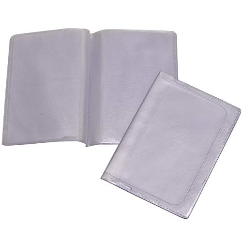 Wallet Inserts for Credit Cards - Transparent Plastic Card Insert Replacement