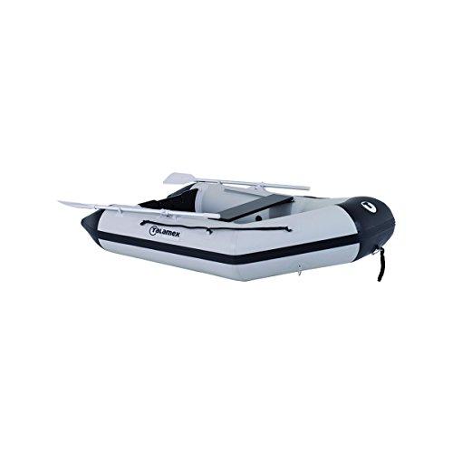 TALAMEX Aqualine QLS230 Schlauchboot mit Lattenboden, Länge 2,30m, grau