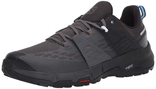 Salomon Odyssey Zapatos de senderismo para hombre, Negro (Negro/Imán/Azul Imperial), 40.5 EU