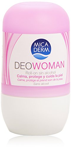Mica Derm - Desodorante Woman - Roll-on sin alcohol - 75 ml