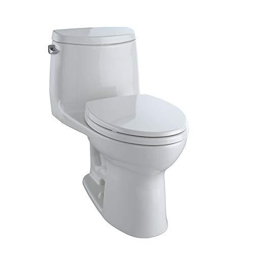 Toto MS604114CEFG#11 UltraMax II One-Piece Elongated 1.28 GPF Universal Height Toilet
