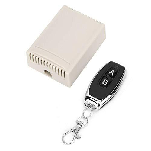 Receptor de control remoto, interruptor de control remoto estable, sensible y confiable de tamaño pequeño, puerta de enlace para ventana de(1 remote control)