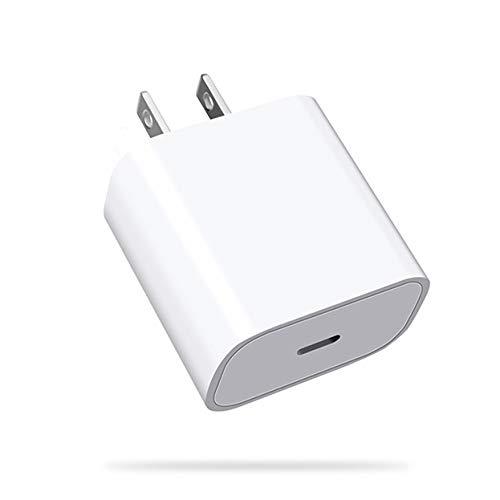 純正品質 PD対応充電アダプター 18W iphone 充電器 アイフォン 充電器 PD USB type-c モデル コンパクトサイズ 急速充電対応機種:iphone 12 / 12 pro / 12 pro max / 12 mini / 11 / 11 Pro/Xs/Xs Max/X/XR/SE / 8 /8 plus 多機種通常充電可能