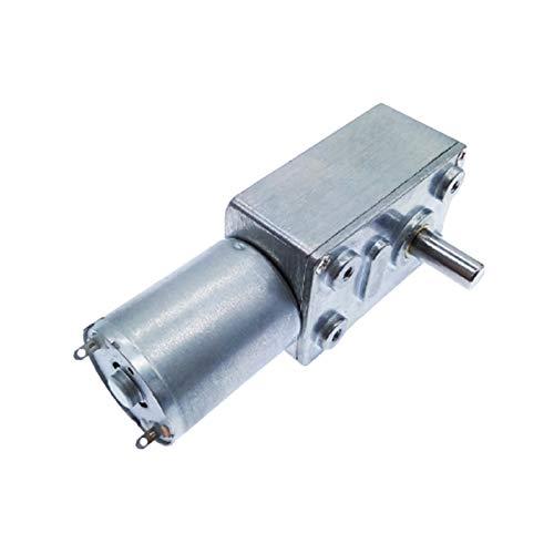 DJNCIA Motor de Engranaje eléctrico DC12V REDUCCIÓN Motor Worm Turbo Motor Encendido DC 12V 1RPM 2RPM-100RPM 200RPM Reductor de Caja de Cambios eléctrica para Coche de Juguete eléctrico de Bricolaje