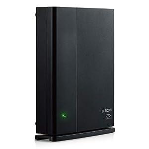 """エレコム メッシュ WiFiルーター 無線LAN WiFi6 11ax 1201+574Mbps IPv6(IPoE)対応 有線ギガ対応 WMC-X1800..."""""""