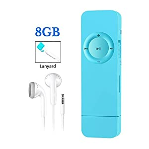 MP3 Player with USB Flash Drive, Portable HiFi Lossless Sound MP3 Music Player, Supports up to 64GB