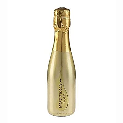 Bottega (GOLD) Prosecco Sparkling Wine Miniature - 20cl Single Bottle