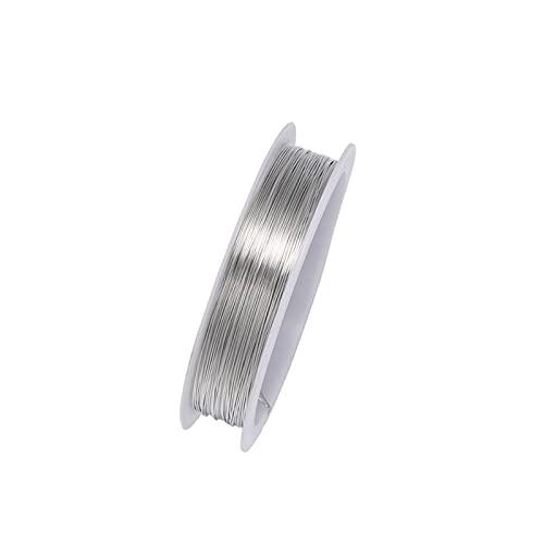 CHUNMA 1 Rollo Robusto de aleación de Oro aleación de aleación de aleación 0,2 0.3 0.4 0.5 0.6 0.7 0.8 1 mm Hilo de Hilo de Cable de Cuerda para Bricolaje Hacienda de joyería