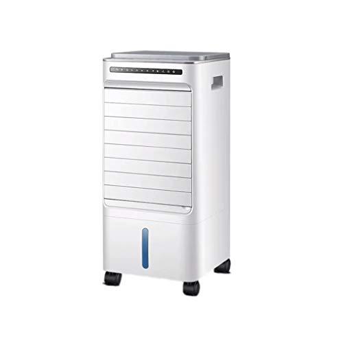 W-lfj hogar Aire Acondicionado Silencioso Portátil Ventilador Frio con Agua Evaporativo Climatizador Evaporativo Dormitorio Sala Abierto Piso Blanco Decoración de artículos para el hogar.