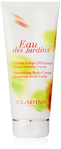 Clarins Eau Des Jardins femme/women, Smoothing Body Cream, 1er Pack (1 x 200 g)