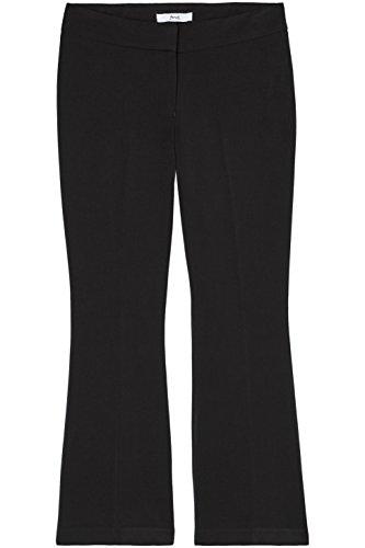 FIND Damen Weite Anzughose mit Schlag Schwarz (Black), 38 (Herstellergröße: Medium) - 4