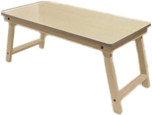 Mesa de cama para computadora portátil, bandeja de cama para computadora portátil, mesa de cama, escritorio para computadora portátil plegable de bambú portátil, bandeja para mesa, mesa de cama, esc