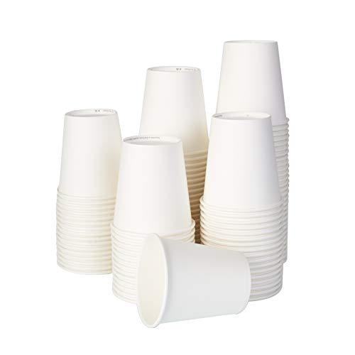 100/200/1000PCS 200ml Bicchieri Carta Biologico Bicchiere monouso Bicchiere compostabile biodegradabile (1000)