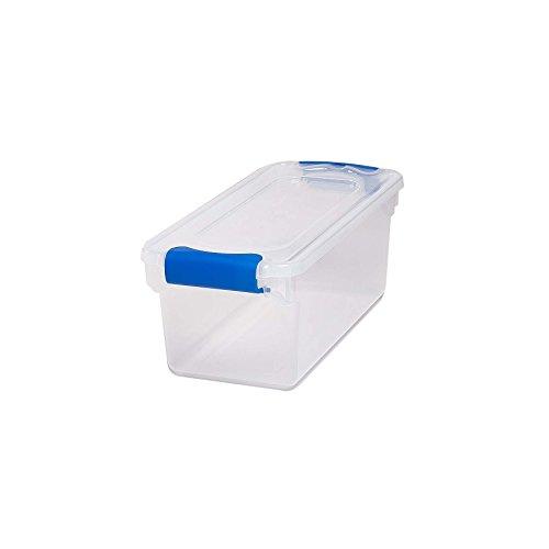 contenedor de plastico transparente marca HOMZ