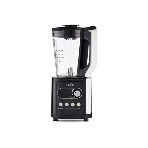 Simeo - bcp320 - Blender chauffant 1.5l 900w noir