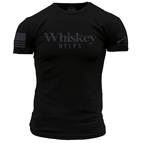 Grunt Style Whiskey Helps - Black - X-Large
